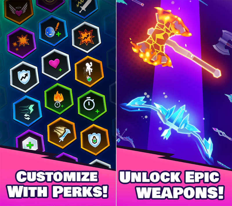 Card Games - Knight-s-Edge-Customize-With-Perks-Unlock-Epic-Weapons