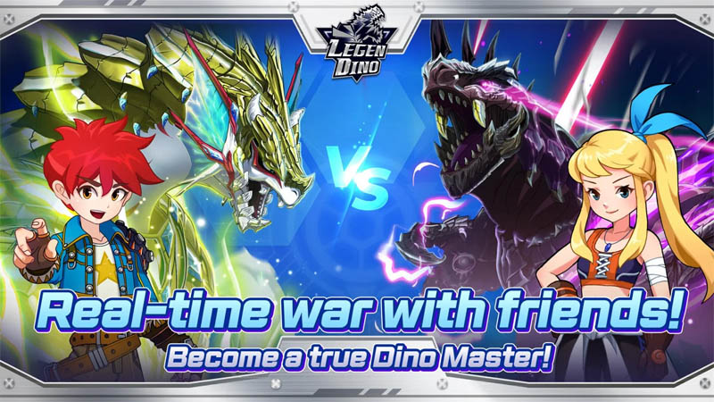 Card Games - Legendino-Real-time-war-with-friends-Become-a-true-Dino-Master