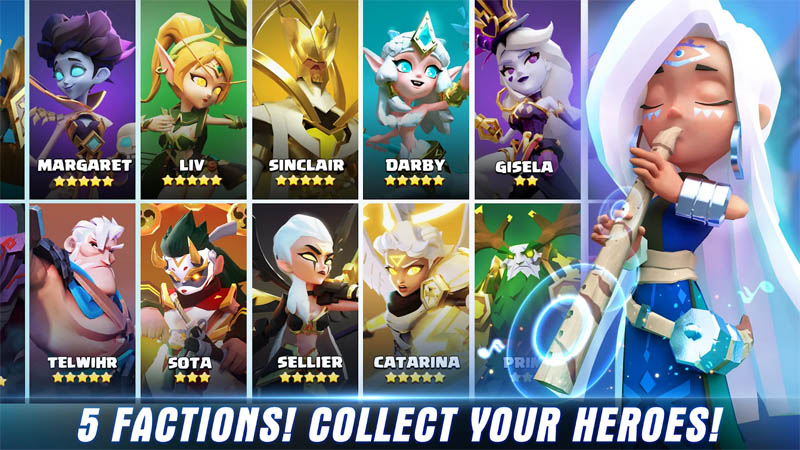 Card Games - Valor-Legends-Eternity-5-Factions-Collect-Your-Heroes