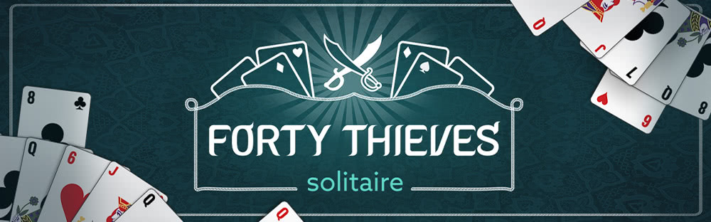 Card Games - forty-thieves-solitaire