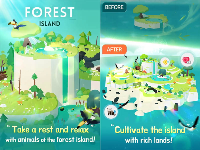 Forest-Island-Take-a-rest-and-relax-Cultivate-the-island