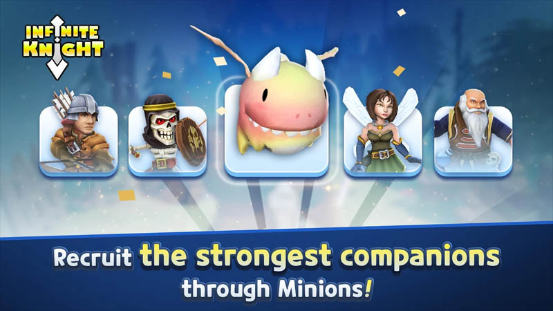 Infinite-Knight-Recruit-the-strongest-companions-through-Minions